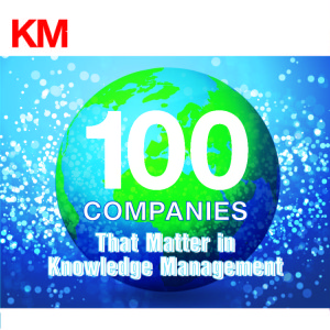 KMWorld 100 Companies that Matter in Knowledge Management Award