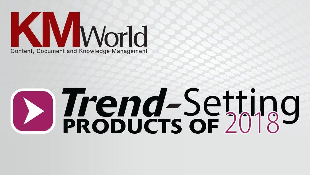 KMWorld Trendsetting
